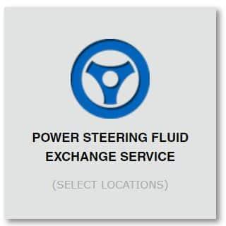 power steering fluid exchange service